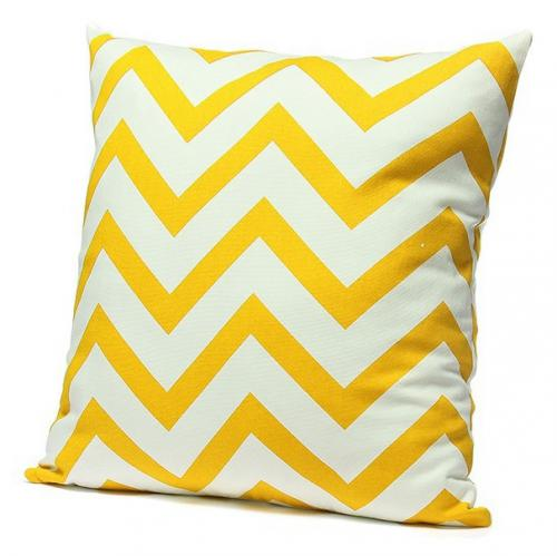 Подушка Chevron Yellow